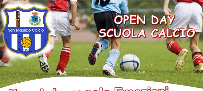 OPEN DAY – PORTE APERTE AL CALCIO